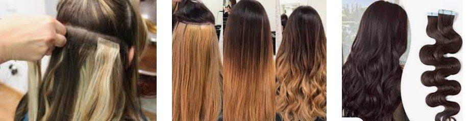 extensiones adhesivas para alargar tu pelo