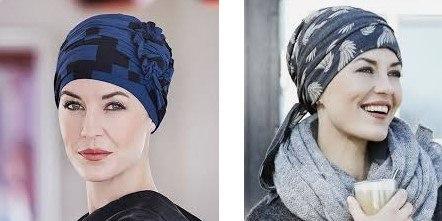 pañuelos oncológicos de moda