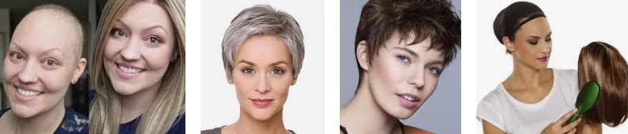 pelucas oncológicas para mujer